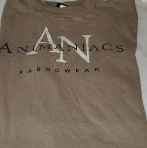 "Vintage Animaniacs ""Calvin Klein take off"" t shirt"